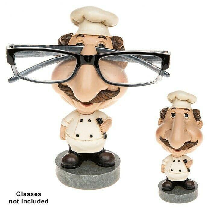 Glasses Holder Spectacles Holder Sunglasses Stand JD Novelty Chef Glasses Case